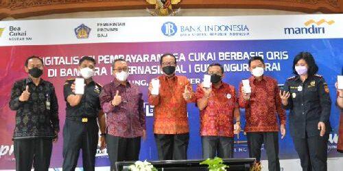 Pertama di Indonesia, Kantor Pelayanan Bea Cukai Bandara Ngurah Rai Gunakan Pembayaran Berbasis QRIS