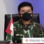 Waspadai Potensi Lonjakan Kasus Covid-19, Panglima TNI Minta Jajaran TNI Kawal Pendisiplinan Prokes