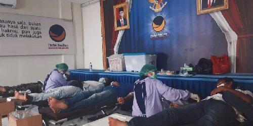 "Maknai Semangat Sumpah Pemuda, NasDem Bali Ajak Krama Bali ""Meyadnya"" Sumbang Darah Demi Kemanusiaan"