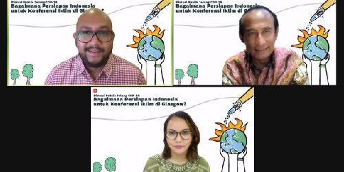 Change.org Indonesia Cari Tahu Persiapan Indonesia Jelang COP 26 Glasgow Lewat Diskusi Publik